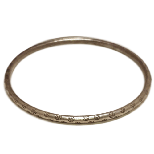 Sterling Silver Bangle (009)